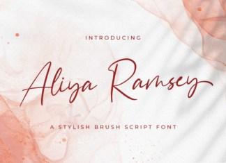Aliya Ramsey Font