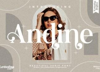 Andine Font