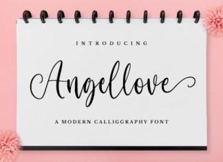 Angellove Font