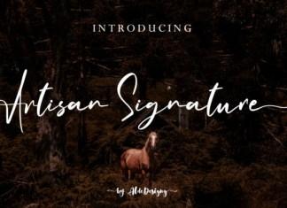 Artisan Signature Font