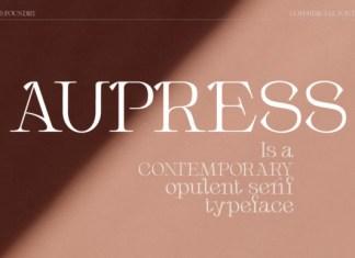Aupress Font