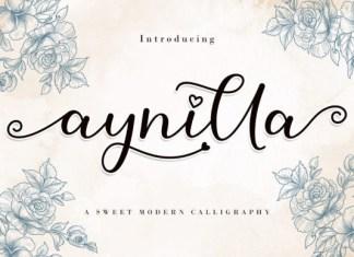 Aynilla Font