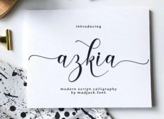Azkia Font