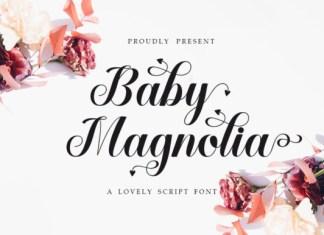 Baby Magnolia Font
