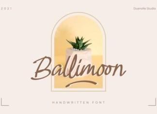 Ballimoon Font
