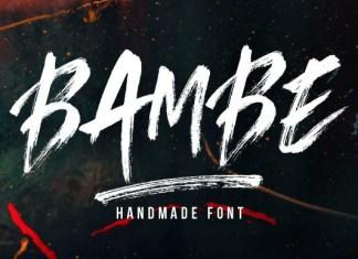Bambe Font