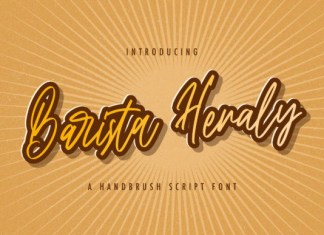 Barista Heraly Font