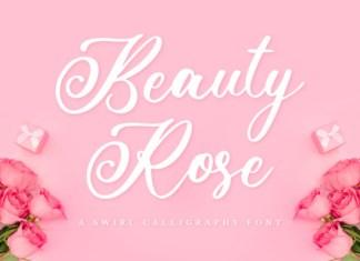 Beauty Rose Font