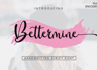 Bettermine Font