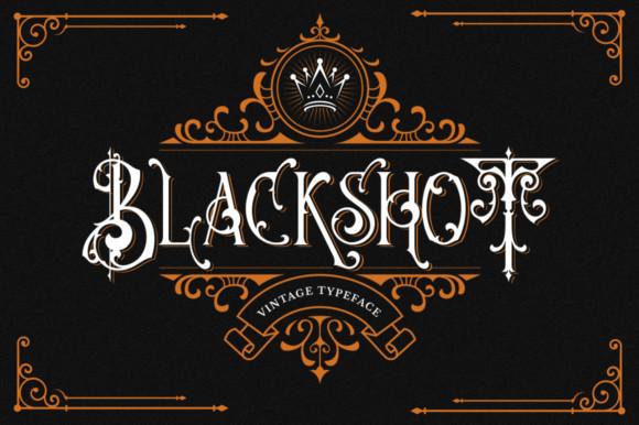 Blackshot Font