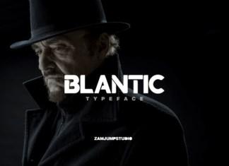 Blantic Font