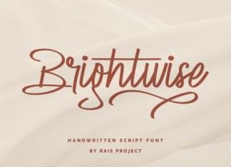 Brightwise Font