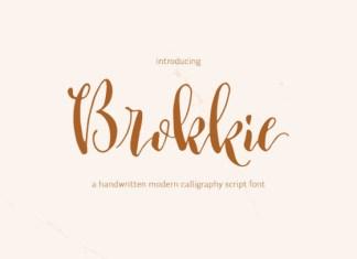 Brokkie Font