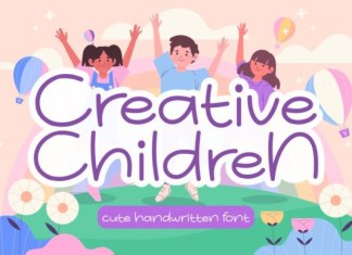 Creative Children Font