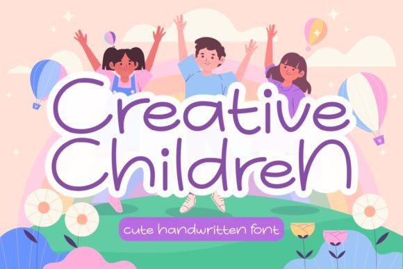 Creative Children Font