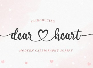 Dearheart Font
