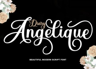 Diary Angelique Font