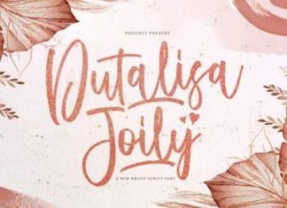 Dutalisa Joily Font