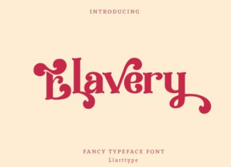 Elavery Font