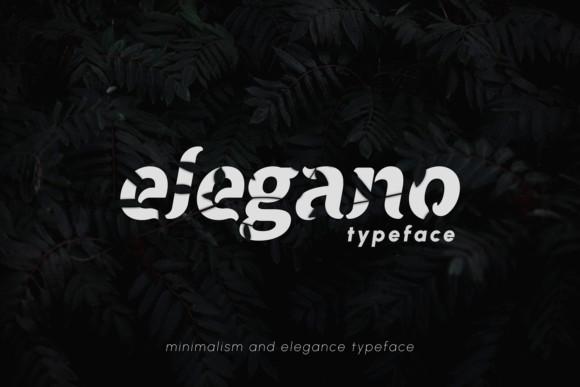 Elegano Font