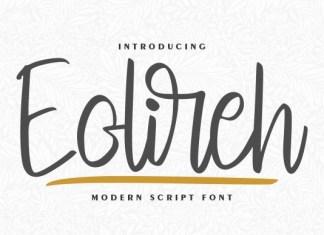 Eolireh Font
