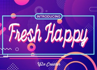 Fresh Happy Font