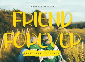 Friend Forever Font