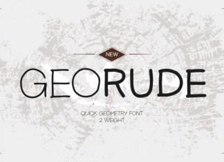 Georude Font