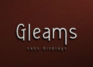 Gleams Font