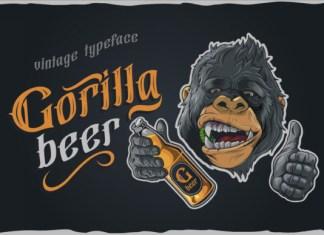 Gorilla beer Font