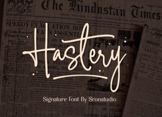 Hastery Font
