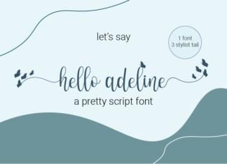 Hello Adeline Font