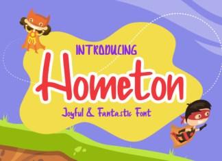 Hometon Font