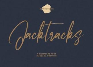 Jacktracks Font