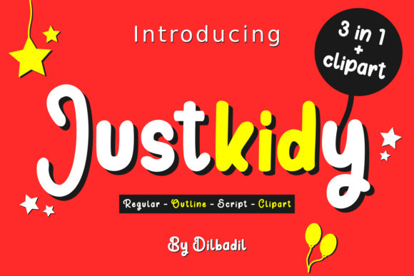 Justkidy Font