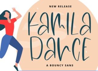 Kamila Dance Font