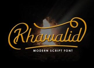 Khawalid Font