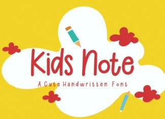 Kids Note Font
