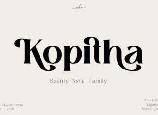 Kopitha Font