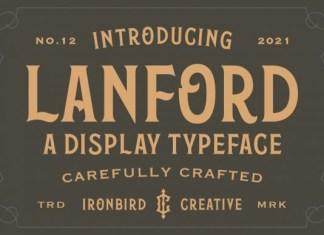Lanford Font