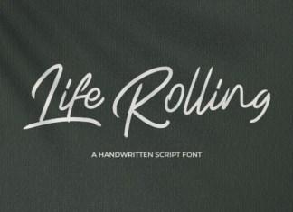 Life Rolling Font