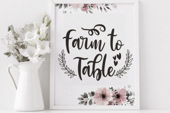 Little Farmhouse Font
