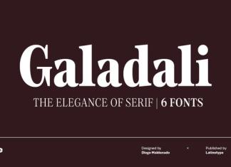 Galadali Font