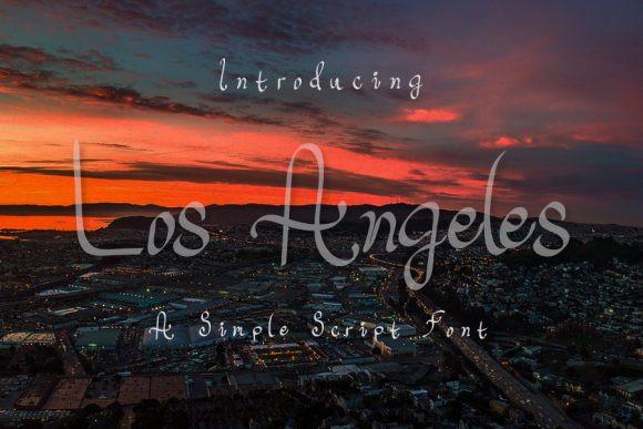 Los Angeles Font
