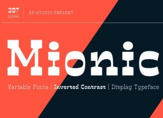 Mionic Font