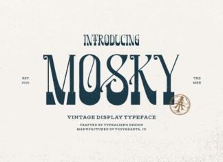 Mosky Font