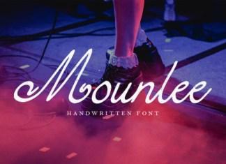 Mounlee Font
