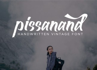 Pissanand Font