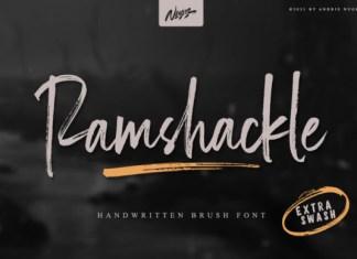 Ramshackle Font