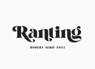 Ranting Font